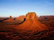 in the desert!