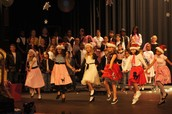Holiday Hoedown Musical Production