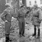 General Patton (Right) in Germany