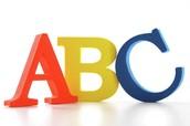Letters: ABC