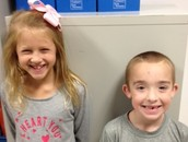 October Character Champions Miss Sanders' Class