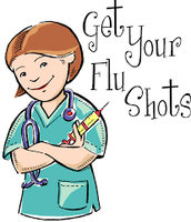 Doctor says get your flu shot!