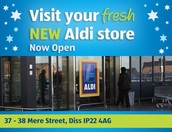 When Did Aldi's Supermarket First Opened?