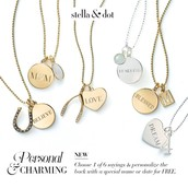 Pre-engraved Charms