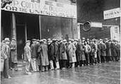 What happened in The Great Depression?