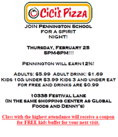 Spirit Night Feb. 25