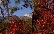 A tall mountain in Pagosa.
