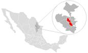 Map of Monterrey