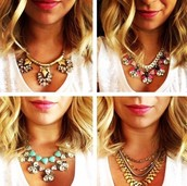 One of these statement necklaces says You!
