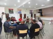 Sessão com os moradores sobre a qualificação do Bairro