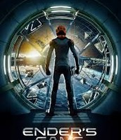 The flyer for the The Ender's Game (2013)