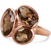 Trilogy  Ring -Rose Gold