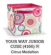 Your WayYour Way Junior Cube - Citrus Medallion