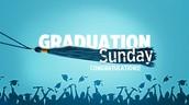 Graduation Sunday is May 17th!