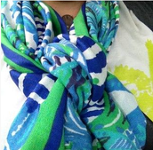 The NEW Spring Capsule Collection Scarf!