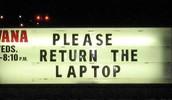 Laptop Return Days!