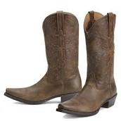 botas marrón cuerro