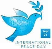 MLES Peace Day Agenda