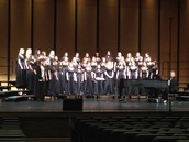 SVMS 8th Grade Girls Choir wins Sweepstakes