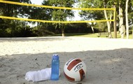Sand Volleyball and Basketball Courts