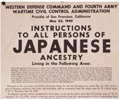 Japanese evacuation sign