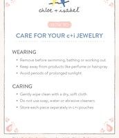 Do's + Don'ts of Jewelry Care