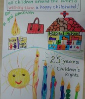 Dilyara's candle picture 2nd grade