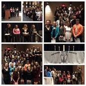 Congratulations High School National Honor Society Inductees