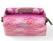 GIRLS POUF- RIBBON PRINT $8 (65% OFF)