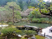 Beautiful temple grounds in Kyoto