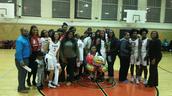 Girls Basketball Team Senior Night