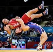 A wrestling coach