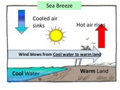 EFFECTS OF HEAT TRANSFER ON AIR AND WATER CURRENTS