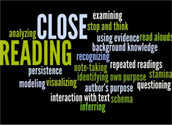 What is Close Reading?  Why do we Closely Read?