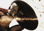 Leonidas fights for glory
