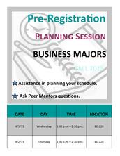 Pre-Registration Workshop