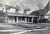 Disastrous Fire Strikes Town