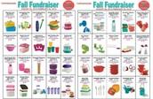 New Fall/Winter Fundraising items!