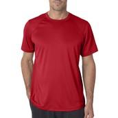 El camiseta es rojo.