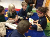Sammy reading to the class take two!