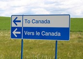 Sign for Canada in two Languages!