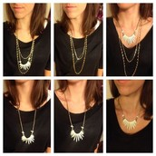 SOLD!!!!!!!!!!Zuni LAYERING necklace, was $104, now $50--4 in 1!!!