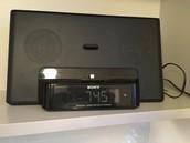 Sony iPod radio/alarm
