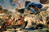 The Barque of Charon, Sleep, Night and Morpheus