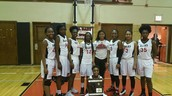 Winning Girls Basketball Team