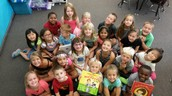 First Graders are changing and growing!