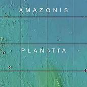 Citta di Vetro is located on Amazonis Planitia, on (of course) Mars!