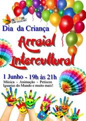 Arraial Intercultural comemorativo do Dia da Criança