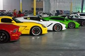 My own garage full of cars