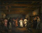 """""""Dance or Ball, White Sulfur Springs Virginia, 1838"""""""